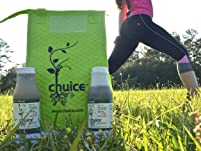 Juice Cleanse with 12 or 18 Bottles and Lunch Bag