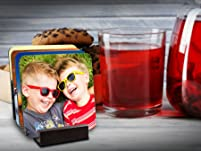 Custom Photo Coasters: Set of Four or Eight