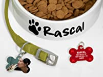 Custom Pet Bowl and Pet Tag