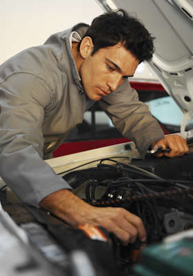 Diesel Oil Change & Inspection or Car A/C Tune-Up