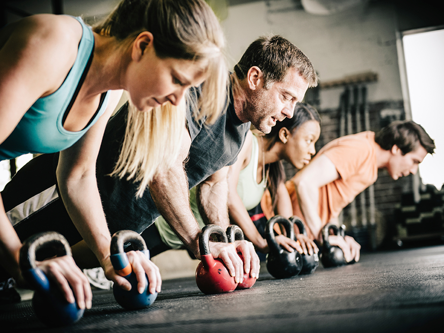 CrossFit: Beginners' or Advanced Classes