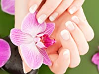 Shellac or Gel Manicure, Pedicure, or Both
