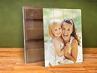Photo Print on Real Distressed Wood Slats