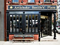 Artichoke Basille's Pizza: 18-Inch Pizza and Two Drinks