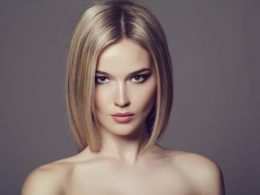 One Women's Haircut