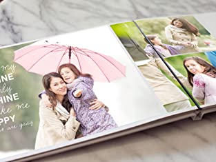 Custom Lay-Flat Hardcover Photo Book