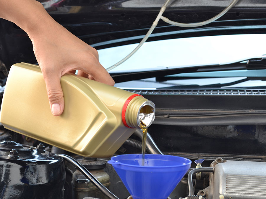 Oil Change and Filter Replacement Package