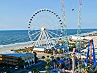 Relaxing Oceanfront Myrtle Beach Inn Escape for One, Two, or Three Nights