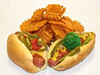 Gourmet Hot Dogs at New York Dawg Pound
