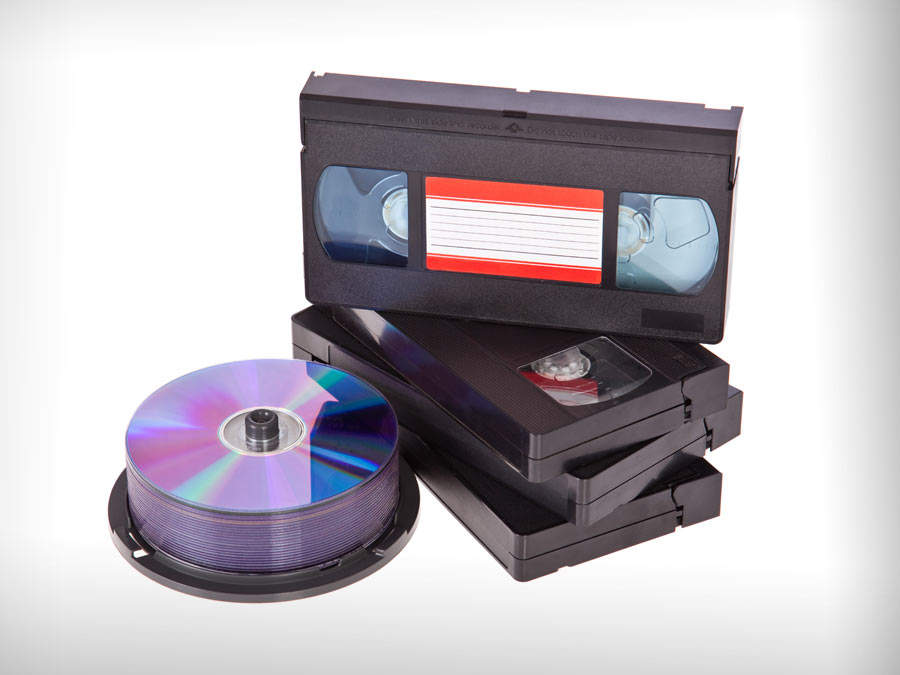 Five Videotape-to-DVD Transfers