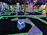 Four or Eight Rounds of Glow-in-the-Dark Mini Golf