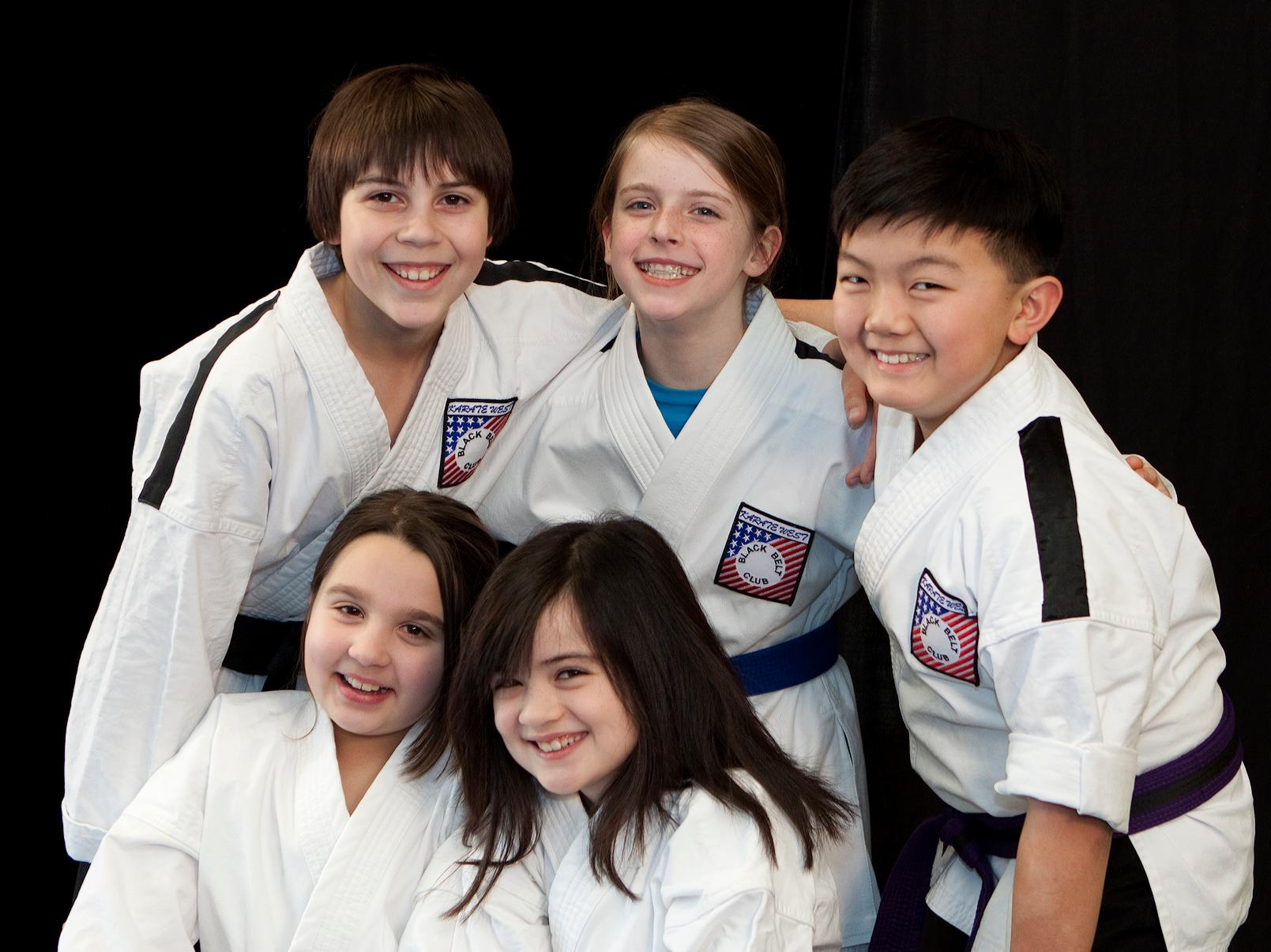 Ten Karate Classes