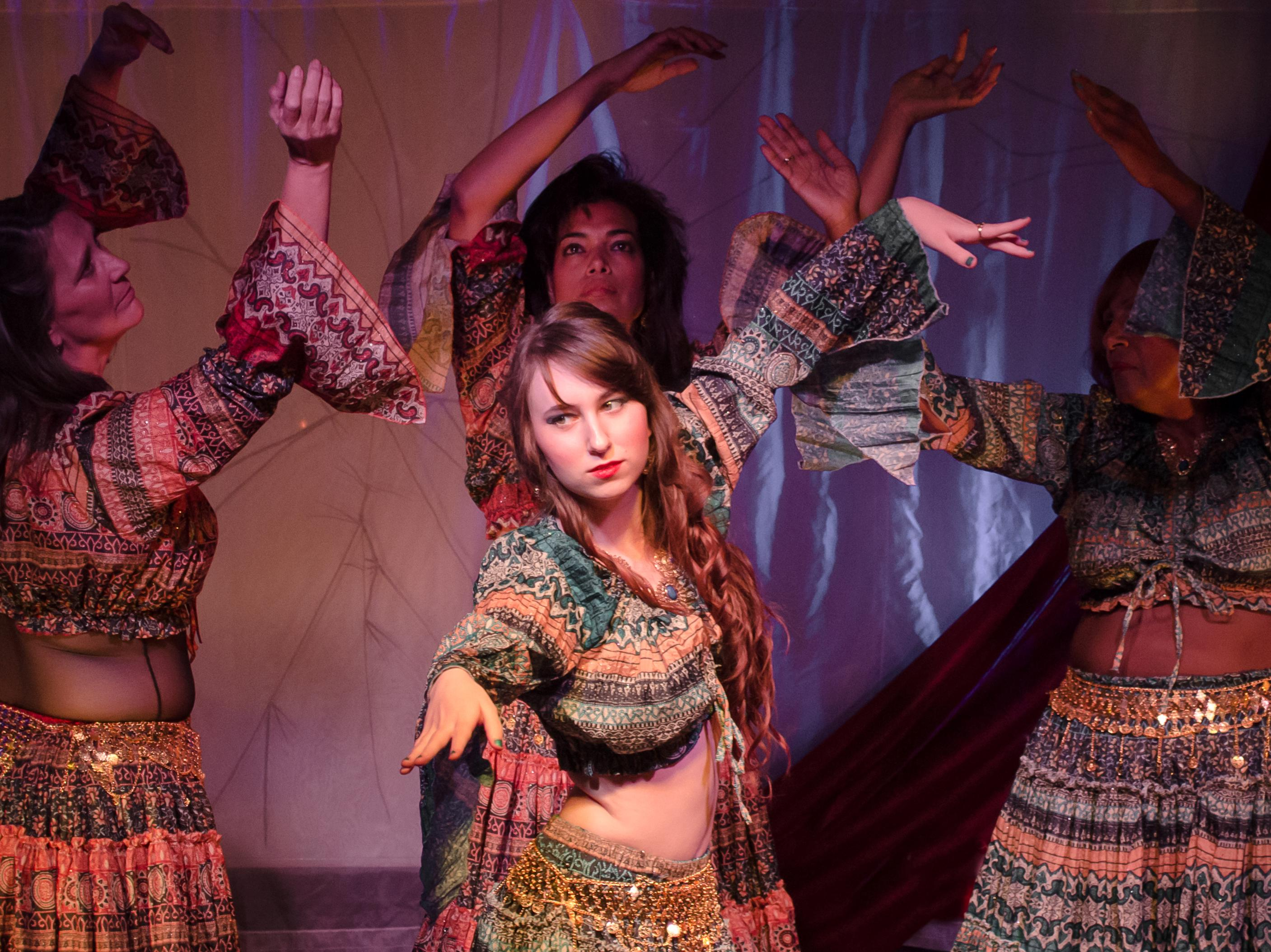 Four Group Belly Dancing Classes
