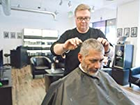 One Men's Haircut