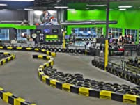 Four 12-Lap Go-Kart Races for One Person