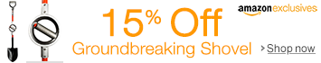 Amazon Exclusives Promo: 15% Off Ergonomic Shovel from Bosse Tools