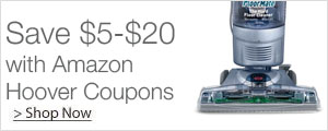 Save $5-$20 with Amazon Hoover Coupons