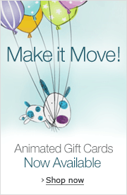 New Animated Amazon.com Gift Cards for Any Occasion