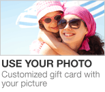 Use Your Own Photo on an Amazon.com Gift Card