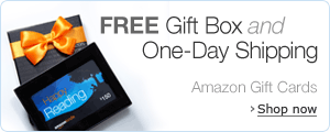 Amazon.com Gift Cards in a free gift box with Free One-Day Shipping