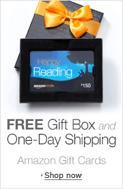 Amazon.com Gift Cards with Free Gift Box and Free One-Day Shipping
