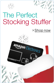 Amazon.com Electronics Gift Cards Make Great Stocking Stuffers