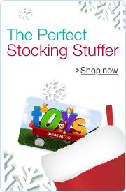 Amazon.com Toys Gift Cards Make Great Stocking Stuffers