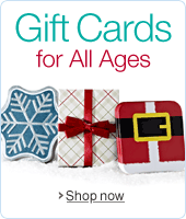 Holiday Amazon.com Gift Cards for All Ages