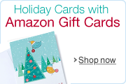 Free Holiday Card and Free One-Day Shipping on Holiday Amazon.com Gift Cards