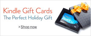 Holiday Amazon.com Gift Cards for Kindle