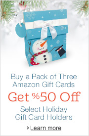 Amazon.com Gift Card Holders