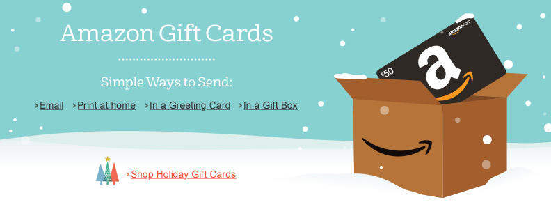 Amazon Gift Card - Email - Just Because (Pick?