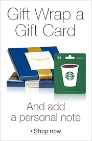 Gift Cards with Gift Wrap