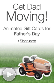 Animated Father's Day Amazon.com Gift Cards