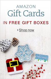 Holiday Amazon.com Gift Cards in a Free Gift Box with Free One-Day Shipping