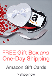 Valentine's Day Amazon.com Gift Cards in a Free Gift Box with Free One-Day Shipping