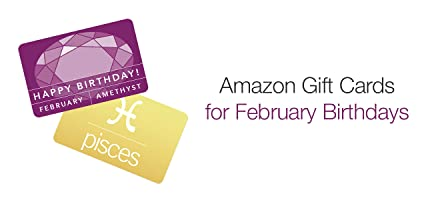 Amazon.com Birthday Gift Cards