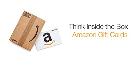 Amazon.com Gift Cards in Gift Boxes