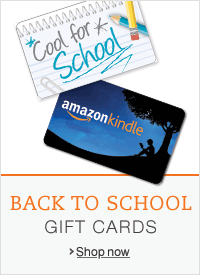 Back to School with Gift Cards at Amazon.com
