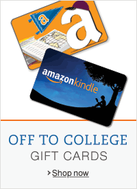 Off to College with Gift Cards at Amazon.com