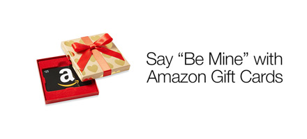 Say 'Be Mine' with Amazon Gift Cards
