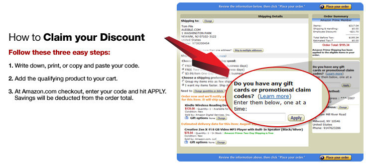 How To Redeem Your Promotional Code