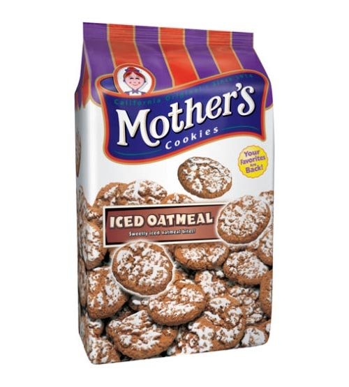 Amazon.com: Mother's Iced Oatmeal Cookies, 14-Ounce Bags (Pack of 4)