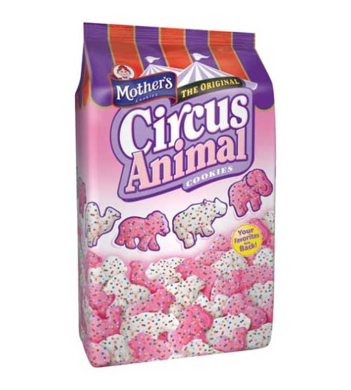 Amazon.com: Mother's Circus Animal Cookies, 14-Ounce Bags (Pack of 4)