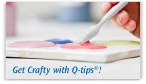 Get Crafty with Q-Tips