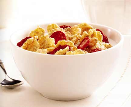 Special K Red Berries cereal bowl