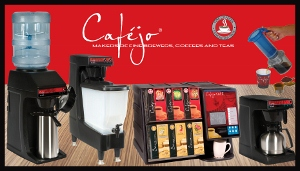 Cafejo product counter