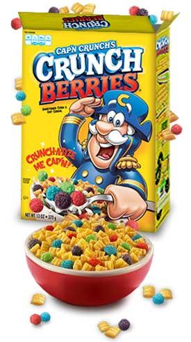 cap n crunch s crunch berries