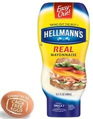 Hellmann's Mayonnaise, Real 16.5 oz, (Pack of 6) : Hellmans Mayonnaise ...