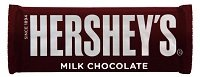 Hersheys milk chocolate bar.